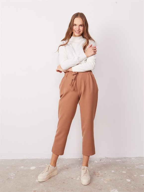 WİNTER ADRİANA  TROUSERS BROWN