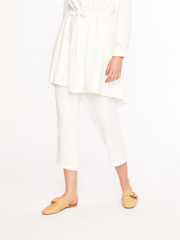 Adriana  trousers white