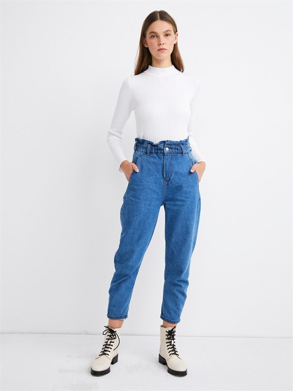 BAGGY JEAN LIGHT BLUE
