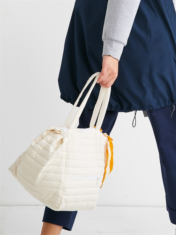 MAKSİ KAPİTONE BAG WHİTE