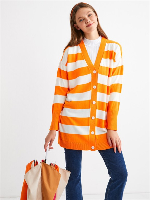 MİLANO CARDİGAN ORANGE