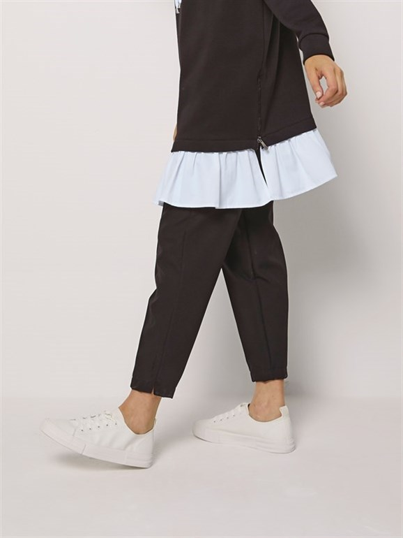 OLİV TROUSERS BLACK