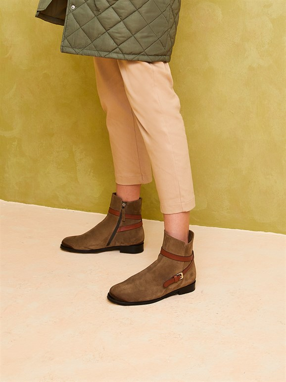 SUEDE BOOTS GREEN