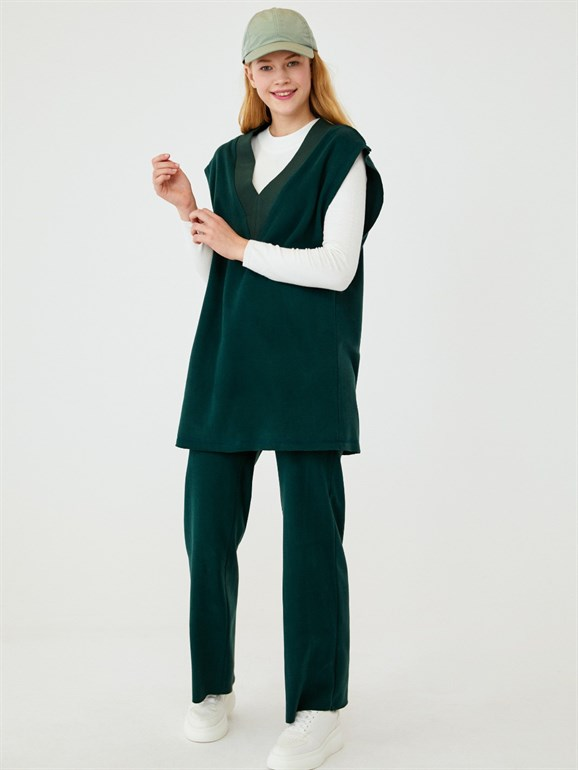 SWEATER SUIT GREEN