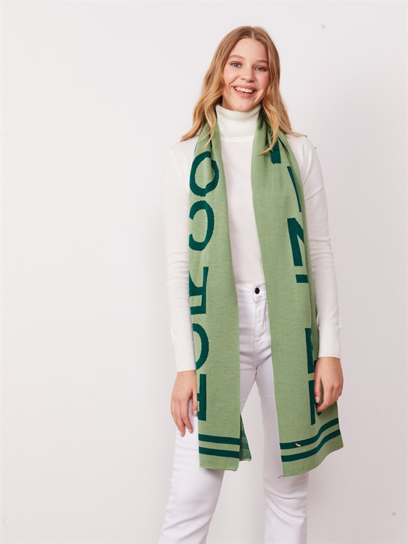 WİNTER SCARF GREEN